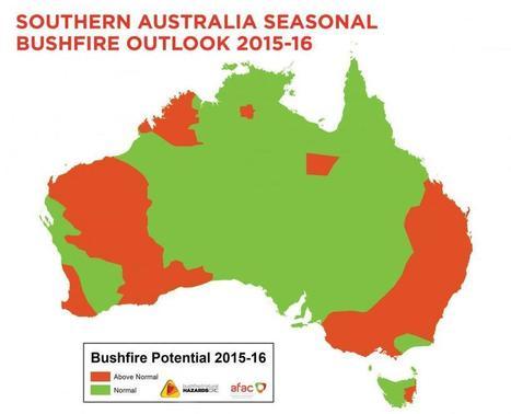 Southern Australia Seasonal Bushfire Outlook 2015-16 | Bushfire & Natural Hazards CRC | Year 9 Geography - Sustainable Biomes | Scoop.it