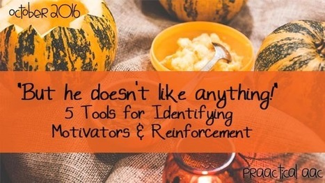 """But he doesn't like anything!"" 5 Tools for Identifying Motivators and Reinforcement 