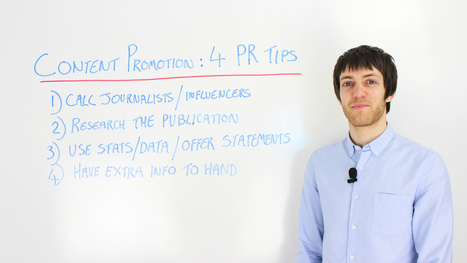 Content Promotion: Four PR Tips | Content Marketing and Curation for Small Business | Scoop.it
