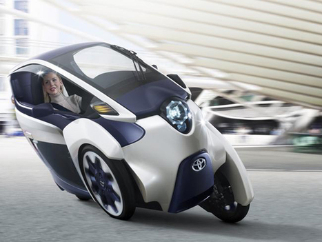 Toyota Ups Ante On Ultimate Urban Transportation System - EarthTechling   Car info & Service Tips   Scoop.it