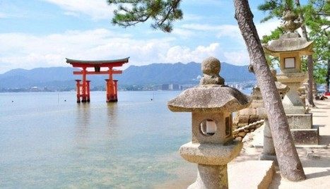 Torii Gates, Japan Holidays In Miyajima Island | asia holidays destination picture | Beauty building, park, and city in asia | Scoop.it