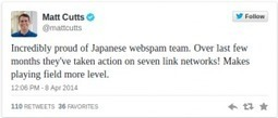 Matt Cutts: Google Takes Down 7 Link Networks in Japan | Search Engine Optimization | Scoop.it