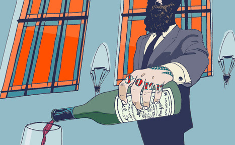 "The American transition from ""sommelier"" to ""somm."" 