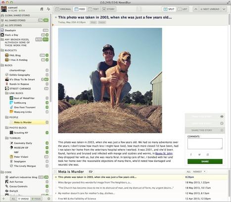 The NewsBlur [website] Redesign | RSS Circus : veille stratégique, intelligence économique, curation, publication, Web 2.0 | Scoop.it