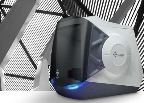 Qubea 3D Rever, une nouvelle imprimante 3D pour particulier - Ubergizmo FR | Geeks | Scoop.it