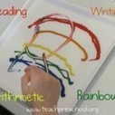 The 4 R's: reading, writing, arithmetic, and rainbows | Teach Preschool | Scoop.it