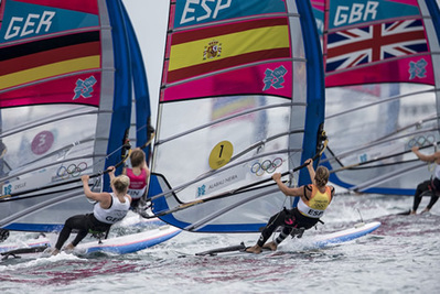 London 2012 RS:X Women medal race report | MDV 2014 | Scoop.it