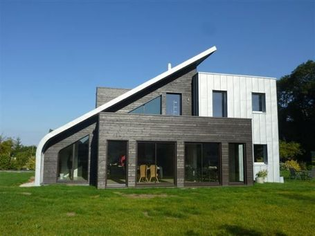 Bois et zinc contemporains | IMMOBILIER 2013 | Scoop.it