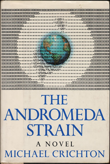 The Quill & The Keyboard: Cover: The Andromeda Strain | ASCII Art | Scoop.it