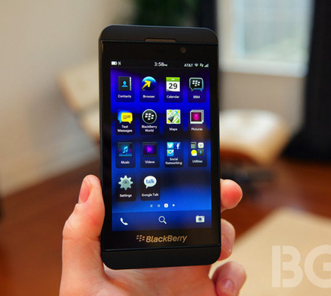 Sprint takes a pass on BlackBerry's first new smartphone | New reading environment in new media | Scoop.it