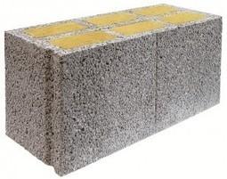 des blocs de pierre ponce dans les murs des con. Black Bedroom Furniture Sets. Home Design Ideas