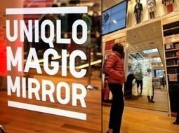 Focus sur le Magic Mirror installé dans un magasin Uniqlo ... | magasin connecté | Scoop.it