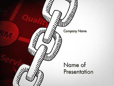 CRM Chain Presentation Template | Presentation Templates | Scoop.it