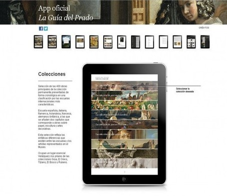 Le Museo Nacional del Prado lance sa première application officielle pour iPad | Clic France | Scoop.it