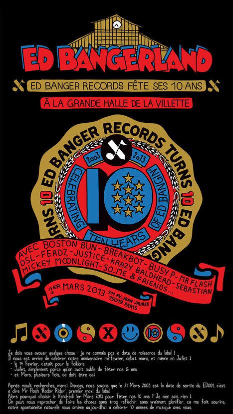 Ed Banger fête ses 10 ans !   Lavillette.fr   Scoop.it
