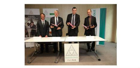 Signature d'une convention entre Crédit Agricole Immobilier, et l ... - Affiches Parisiennes | ENPC | Scoop.it