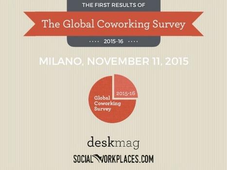 Découvrez les derniers chiffres sur le coworking 2015-2016 | Le télétravail | Scoop.it
