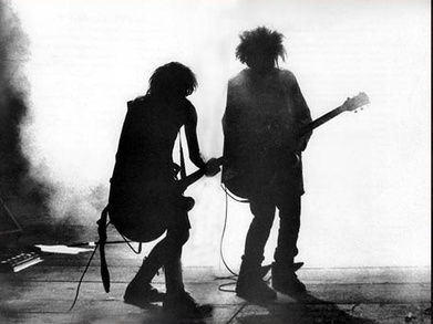 PHOTO: The Cure (Simon Gallup and Robert Smith) | SongsSmiths | Scoop.it
