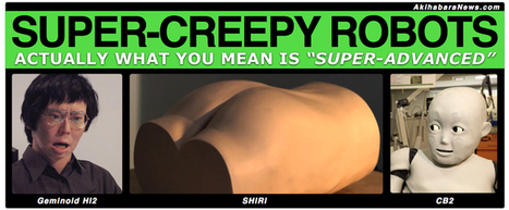 Japan's Creepiest Robots (and why they're not) « Akihabara News   AI, NBI, Robotics & Cybernetics & Android Stuff   Scoop.it