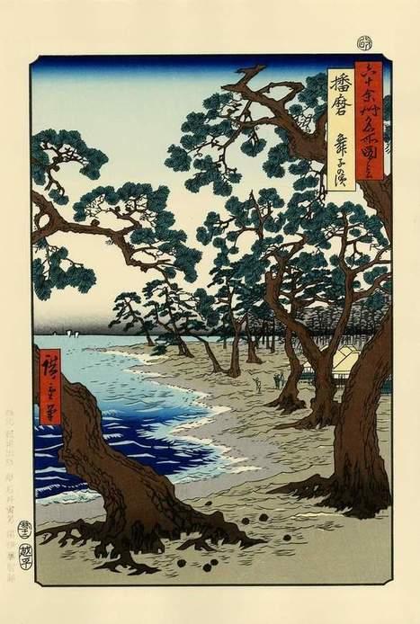 vends très belles estampes de HIROSHIGE - paris-vente-veritables-estampes-objets-art-japon.overblog.com | estampes japonaises | Scoop.it
