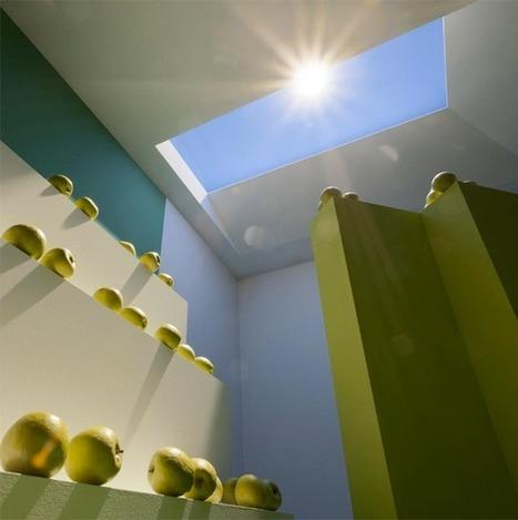 Une fausse fenêtre reproduit la lumière du soleil de n'importe quel endroit dans le monde - HelloBiz | Economie sociale et solidaire, Alternatives | Scoop.it
