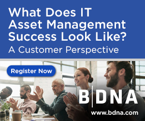 "Webinar Dec 6 2PM EST: What Does IT Asset Management Success Look Like?  A Customer Perspective | The ""in"" report. 