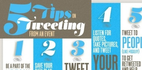 How to Tweet From an Event [Infographic] | Twitter 101 | Scoop.it