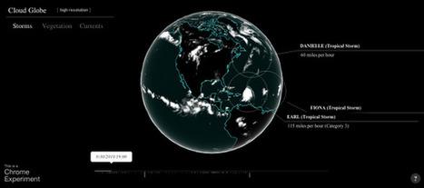 Cloud Globe Un Experimento de Chrome   Noticias, Recursos y Contenidos sobre Aprendizaje   Scoop.it