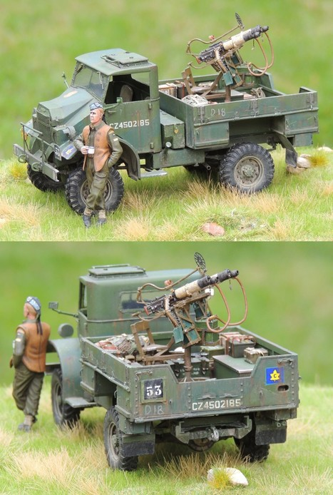 Somewhere in England - 1942 Technical | Military Miniatures H.Q. | Scoop.it