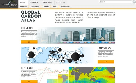 Carbon Atlas : first worldwide data tool [@We_D... | Data journalisme | Scoop.it