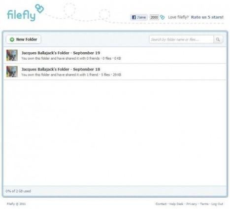 Filefly: partager des fichiers sur Facebook | Ce qui m'intéresse | Scoop.it