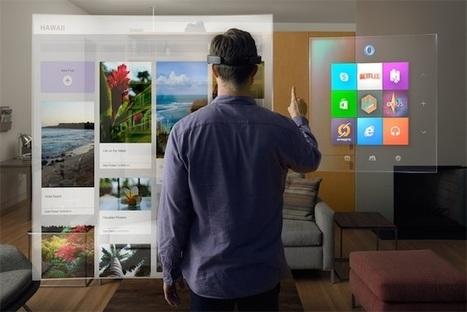Microsoft HoloLens : l'hologramme est-il l'avenir de l'informatique ? | Infos en vrac | Scoop.it