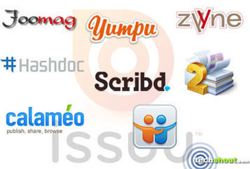 8 Issuu Alternatives - TechShout   Technology and language learning   Scoop.it