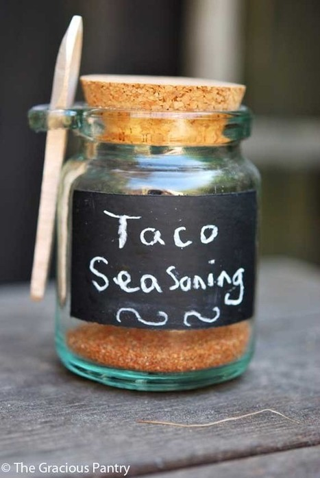 Clean Eating Recipes | Clean Eating Taco Seasoning | FIT for Success | Scoop.it