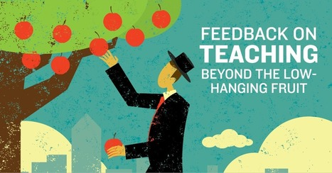 Guest Blog: Feedback on Teaching—Beyond the Low-Hanging Fruit | #EdTech | Scoop.it