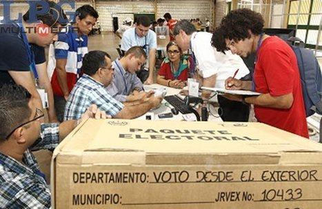 Voto en el exterior, deuda pendiente - La Prensa Gráfica | Cesar Rios | Scoop.it