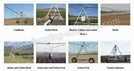 Center Pivot Sprinkling Machine, Farm Irrigation Equipment | Farming Machine | Scoop.it