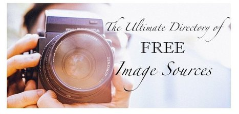 "Must Bookmark Site: ""The Ultimate Directory Of Free Image Sources"" 