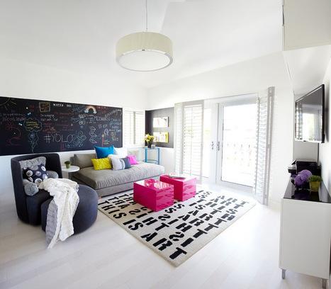 15 Fun Features for Family Rooms   Designing Interiors   Scoop.it