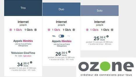 Ozone propose ses nouvelles offres fibre optique sur plusieurs Réseaux d'Initiative Publique - Ariase.com | Ma RP | Scoop.it