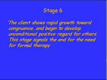Roger's Seven Stages of Process