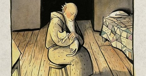 The White Cat and the Monk: A Lovely 9th-Century Ode to the Joy of Uncompetitive Purposefulness, Newly Illustrated | Multicultural Children's Literature | Scoop.it