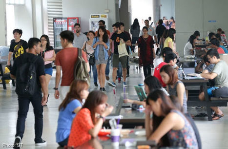 More ways to get part-time degrees at NTU - AsiaOne | flipped classroom | Scoop.it