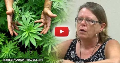 "Jury Finds Woman NOT Guilty of ""Manufacturing Drugs"" Because the Marijuana She Grew Was Medicine 