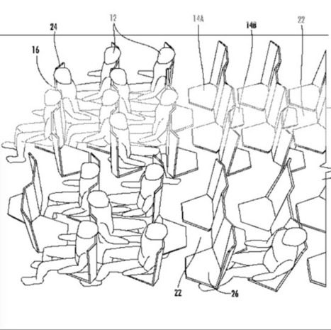 This is the most comically hellish design for airplane seating yet - Quartz - Quartz   Airline Passenger Experience   Scoop.it