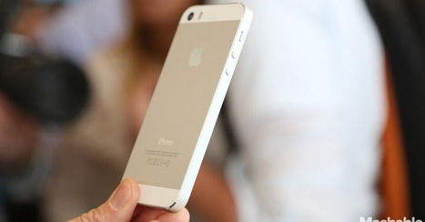 Gold iPhone 5S No Longer Available Online This Month | Digital-News on Scoop.it today | Scoop.it