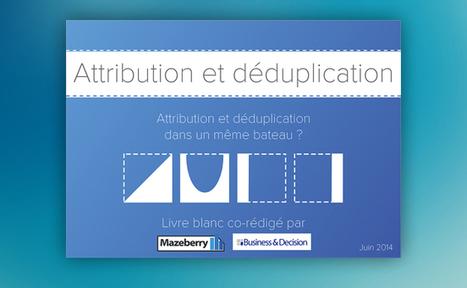 E-marketing : Attribution et déduplication dans le même bateau ... - Frenchweb.fr   e-biz   Scoop.it
