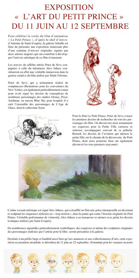Une exposition consacrée au Petit Prince d'Antoine de Saint-Exupéry | Romans régionaux BD Polars Histoire | Scoop.it