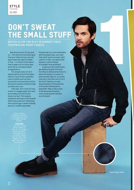 Esquire Magazine July 2013 photoshoot | Tom Riley | Tom Riley | Scoop.it
