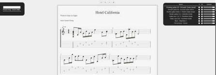 Des partitions de guitare dans Chrome, Guitar Tab Viewer | Ballajack | Ressources numériques et curation | Scoop.it